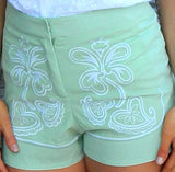 One and Only Sage Shorts
