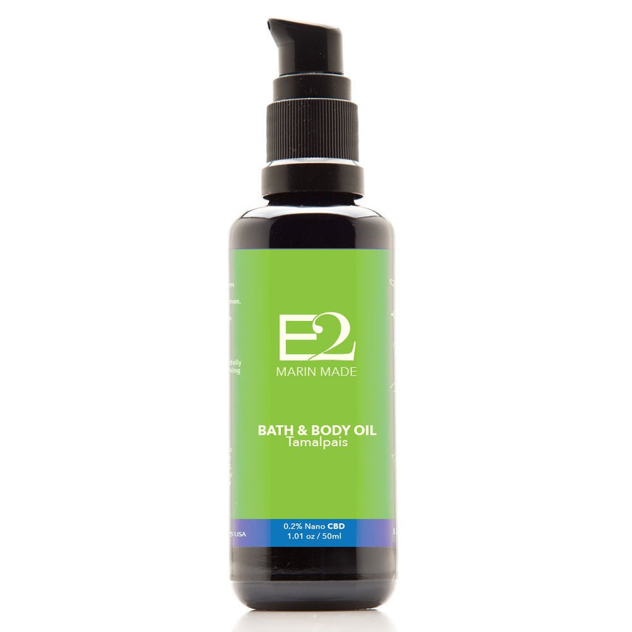 TAMALPAIS BATH & BODY OIL Spirulina & Passion flower 0.2% Nano CBD
