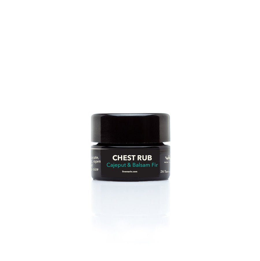 CHEST RUB Cajeput & Balsam Fir 0.4% Nano CBD