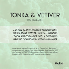 100mg Tonka & Vetiver CBD Bath Bomb