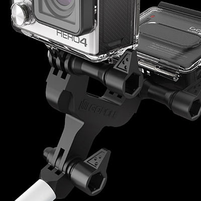 Dualcam Adapter in use