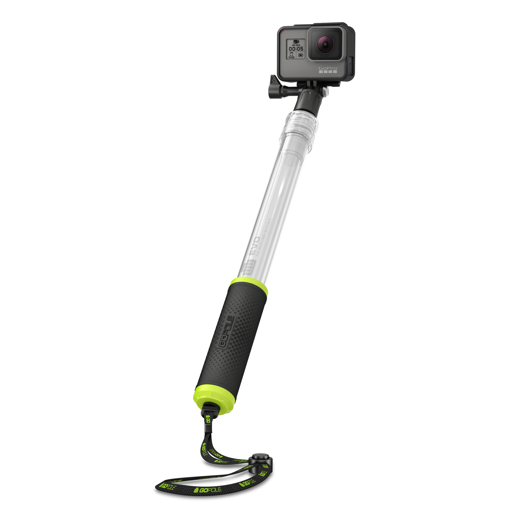 GoPole Evo - GoPro Floating Extension Pole 14-24 Inches