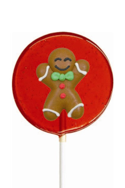 Christmas Lollipal, Gingerbread Man