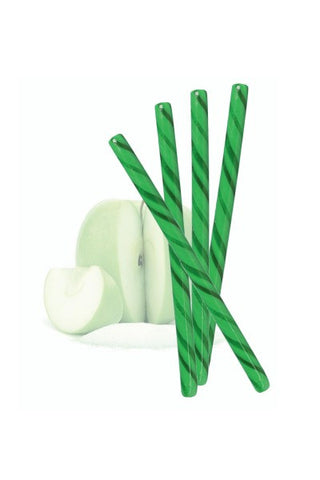 Sour Apple Candy Sticks, 50 Count - Item #2403