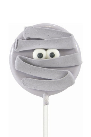 Halloween Spooky Mummy Shaped Lollipal