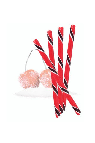 Candy Sticks, Sour Cherry