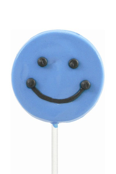 Smiley Lollipals, Blue