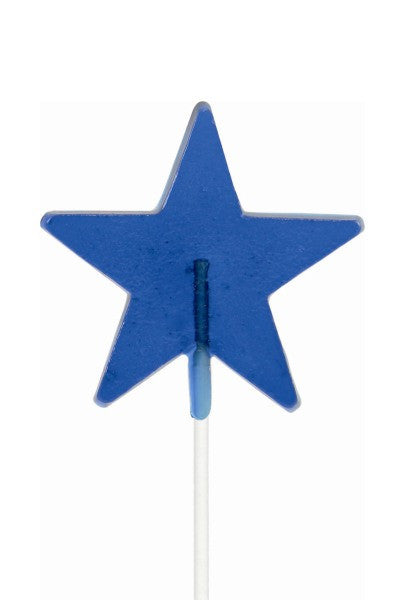 Star Shaped Lollipals, Blue