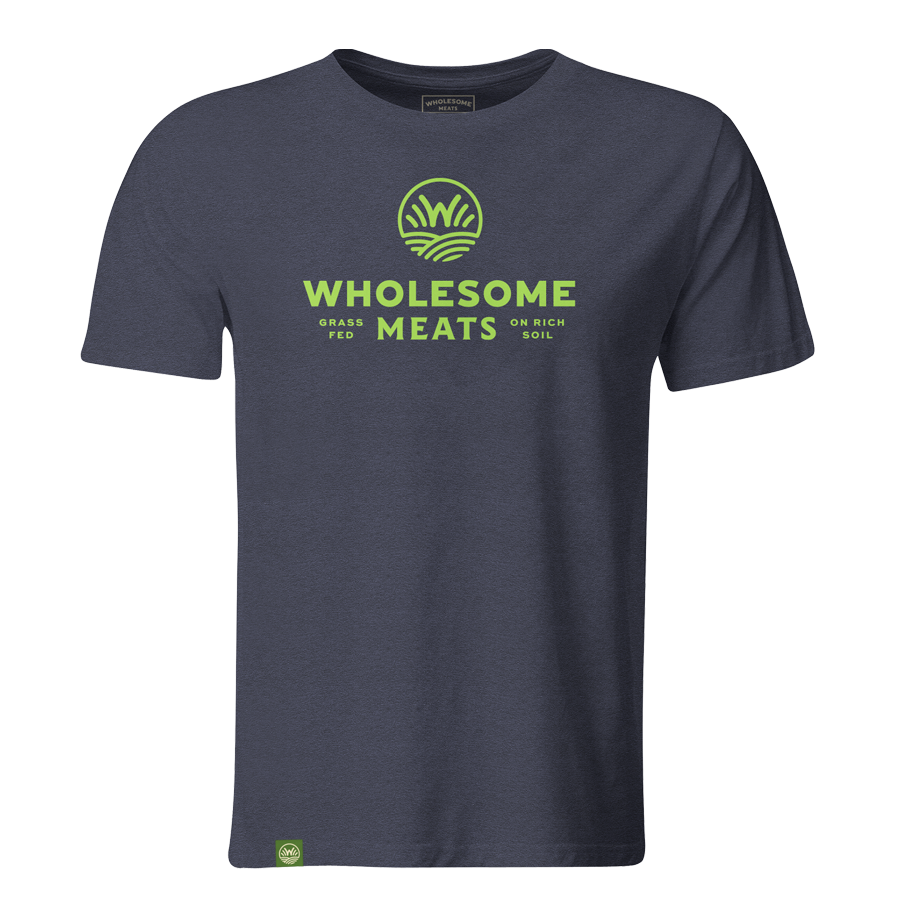 """Wholesome Meats"" Logo Tee"