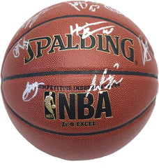 Golden State Warriors 2014-15 Team NBA Champions Autographed Signed Spalding Basketball PAAS COA