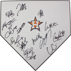 Houston Astros 2015 Team Autographed Signed Baseball Home Plate