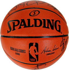 Philadelphia 76ers 2018-19 Team Signed Autographed Spalding NBA Game Ball Series Basketball CAS COA - 11 Autographs - Embiid Butler