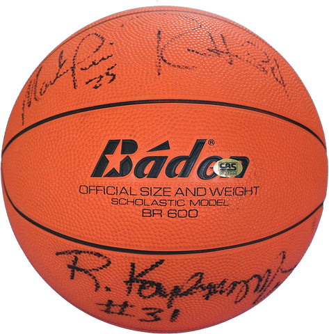 Cleveland Cavaliers Cavs 1988-89 Team Signed Autographed Basketball CAS COA Price Daugherty Nance Harper