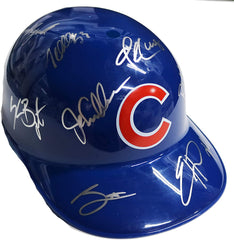 Chicago Cubs 2016 World Series Champions Team Signed Autographed Souvenir Full Size Batting Helmet Bryant Rizzo Zobrist Arrieta