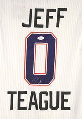 Jeff Teague Atlanta Hawks Signed Autographed 2015 All Star White #0 Jersey JSA COA