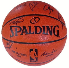 Golden State Warriors 2014-15 Team Autographed Signed Spalding NBA Game Replica Basketball PAAS COA