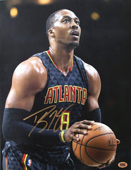 "Dwight Howard Atlanta Hawks Signed Autographed 11"" X 14"" Photo CAS COA"