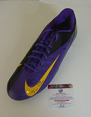 Teddy Bridgewater Minnesota Vikings Signed Autographed Nike Football Cleat Global COA