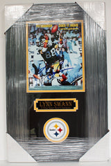 "Lynn Swann Pittsburgh Steelers Signed Autographed 22"" x 14"" Framed Photo"
