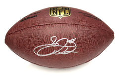 "Emmitt Smith Dallas Cowboys Signed Autographed Wilson ""THE DUKE"" NFL Football Global COA"