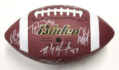 New England Patriots 2014 Team Signed Autographed Football AI COA Super Bowl Champs Belichick Brady Gronkowski