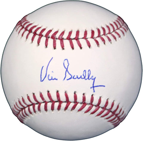 Vin Scully Los Angeles Dodgers Signed Autographed Rawlings Official Major League Baseball LOA Global COA
