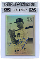 Kris Bryant Chicago Cubs 2017 Bowman Chrome 1948 Signed Autographed #48B-KB Baseball Card CAS Certified