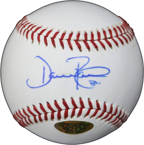 Dave Roberts Los Angeles Dodgers Signed Autographed Rawlings Official League Baseball Witnessed LSC COA with Display Holder