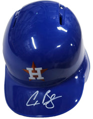 Alex Bregman Houston Astros Signed Autographed Rawlings Mini Helmet Global COA