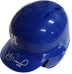 Jose Altuve Houston Astros Signed Autographed Mini Batting Helmet Global COA