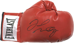 Floyd Mayweather Jr. Signed Autographed Red Everlast Boxing Glove PAAS COA