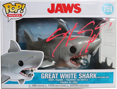 Steven Spielberg Signed Autographed Jaws Movies FUNKO POP #759 Vinyl Figure Global COA