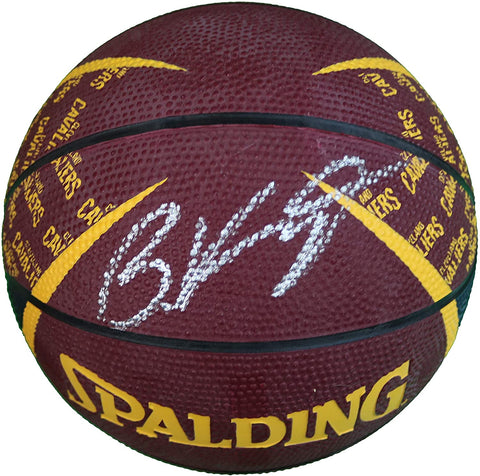 Brandon Knight Cleveland Cavaliers Signed Autographed Spalding Cavs Logo Mini Basketball CAS COA
