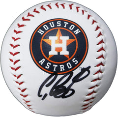 Craig Biggio Houston Astros Signed Autographed Rawlings Official Major League Logo Baseball Global COA with Display Holder