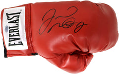 Floyd Mayweather Jr. Signed Autographed Red Everlast Boxing Glove PP COA