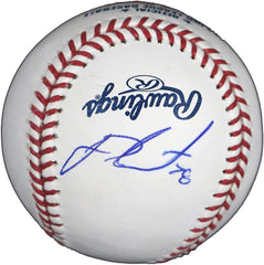 J.D. Martinez Boston Red Sox Signed Autographed Rawlings Official Major League Baseball JSA COA with Display Holder