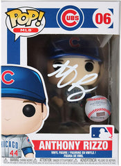 Anthony Rizzo Chicago Cubs Signed Autographed MLB FUNKO POP #06 Vinyl Figure Global COA
