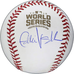 Eddie Vedder Pearl Jam Signed Autographed Rawlings Official Chicago Cubs 2016 World Series Baseball Global COA with Display Holder