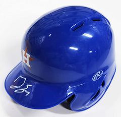 George Springer Houston Astros Signed Autographed Mini Helmet Global COA