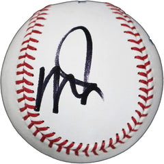 Mike Trout Los Angeles Angels Signed Autographed Rawlings Official Major League Baseball JSA Letter COA with Display Holder