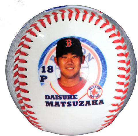 Daisuke Matsuzaka Dice K Boston Red Sox Major League Collectible Rawlings Baseball