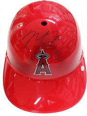 Mike Trout Los Angeles Angels Signed Autographed Full Size Souvenir Baseball Batting Helmet PAAS COA