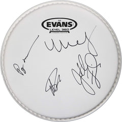 Phish Band Signed Autographed Drum Head by Trey Anastasio Jon Fishman Page McConnell Mike Gordon Global COA LOA