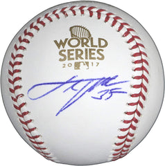 Justin Verlander Houston Astros Signed Autographed Rawlings 2017 World Series Official Baseball Global COA