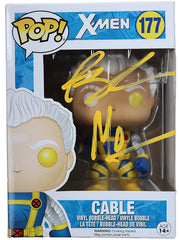 Rob Liefeld and Art Thibert Dual Signed Autographed Cable X-Men FUNKO POP #177 Vinyl Figure Global COA