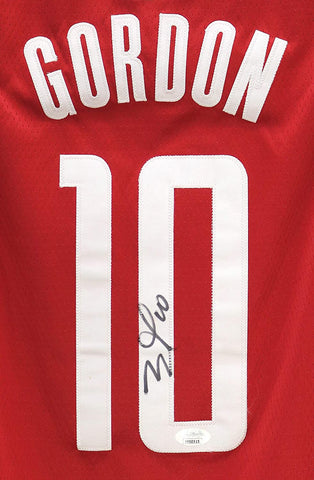 Eric Gordon Houston Rockets Signed Autographed Red #10 Jersey JSA COA