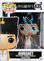 Sofia Boutella Signed Autographed Ahmanet The Mummy FUNKO POP #435 Vinyl Figure Global COA