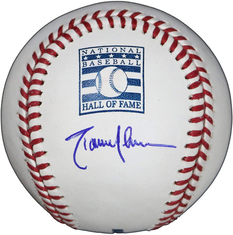 Randy Johnson Arizona Diamondbacks Seattle Mariners New York Yankees Signed Autographed Rawlings Hall of Fame Official Major League Baseball COA with Display Holder