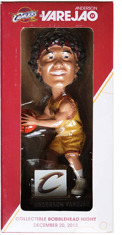 Anderson Varejao Cleveland Cavaliers Cavs Signed Autographed Bobblehead