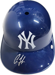 Aaron Judge New York Yankees Signed Autographed Full Size Souvenir Batting Helmet PAAS COA - Damaged - Cracked
